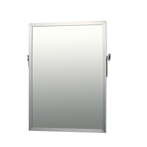 Adjustable Tilt Mirror, Stainless Steel, 36