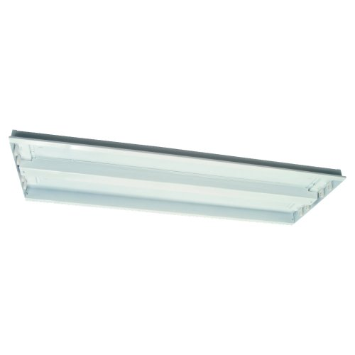 Sea Gull Lighting 9515LE-15 Four-Light Fluorescent Chassis, - 15 White Chassis Fluorescent