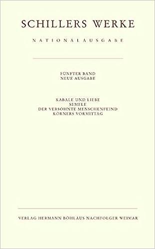Descargar Utorrent Español Schillers Werke. Nationalausgabe: Band 5: Kabale Und Liebe. Kleine Dramen. Paginas De De PDF