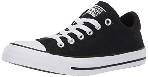 Converse Women's Chuck Taylor All Star Madison Low Top Sneaker White/Black, 8.5 M US