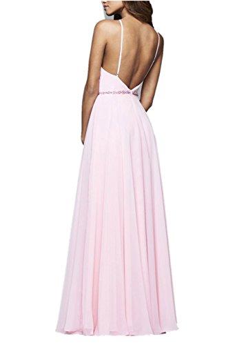 Vestido mangas trapecio Rosa para Clásico mujer Promworld Sin HgCTAwxWq