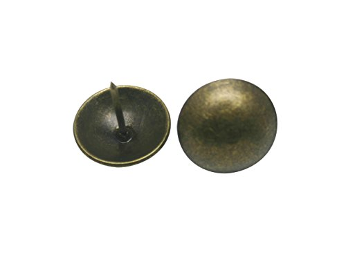 Antique Brass Round Large-headed Nail Diameter - 8