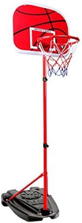 子供の撮影フレーム、バスケットボールのフレームを昇降することができ、屋外の少年の撮影フレーム、取り外し可能なバスケットボールのスポーツ用品、三角ブラケットは、より安定した、2メートルあります (Color : Red, Size : 2m)