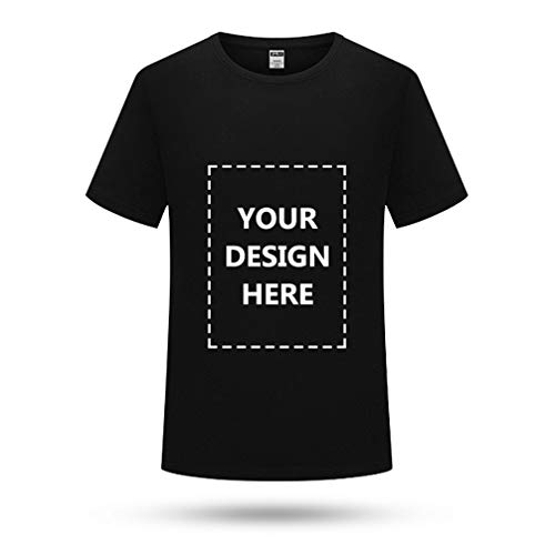 Custom T Shirt Add Your Text Name Personalized Message Or Image for Men and Women Unisex T-Shirt