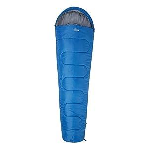 Mountain Warehouse Basecamp 250 Sleeping Bag -Warm Camping Bag Blue