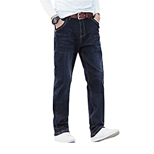 Demon hunter Men's Relaxed Fit Straight Leg Jeans