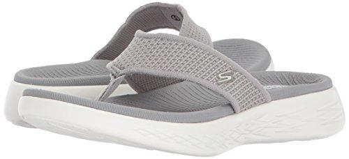 Gray Skechers flop 600 go On Flip the Women''s 15300 xUxR18Z
