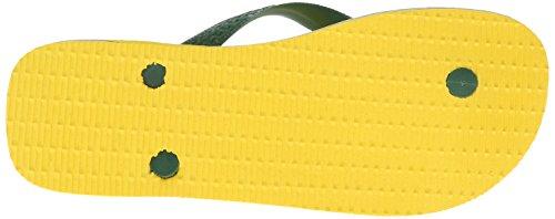 Sole Flop Rubber Havaianas Thong Citrus Flip Brasil Women Yellow UwqU1O