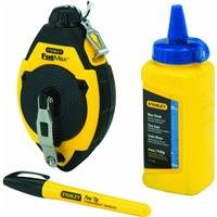 (Stanley 47-681 100 Chalk Line Reel & Chalk Set)