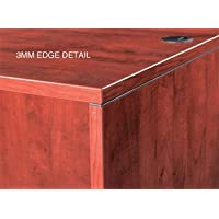 Marquis 36 Two Drawer Lateral File 35 1/4W X 22D X 29H Features 3Mm Edge Banding & Thermal-Fused Laminate - Mahogany