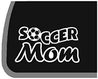 product image for Soccer Mom Car Decal/Sticker | 5.5 in Wide | KCD194