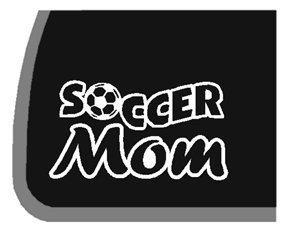 Soccer Mom Car Decal / Sticker | 5.5 In Wide | KCD194