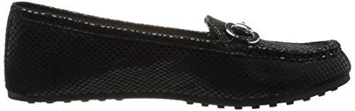 Aerosoles Vrouwen Rijden Door Slip-on Loafer Zwarte Slang
