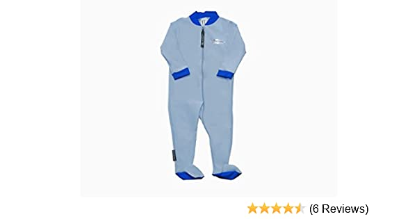SPF//UPF 50 Stingray Australia Baby Sun Suit with Feet UV Sun Protection Sunsuit for Infants ST2020-LB