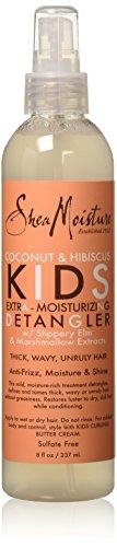 Shea Moisture Kids Extra-Moisturizer Detangler, Coconut & Hibiscus, 8 (Detangling Spray)