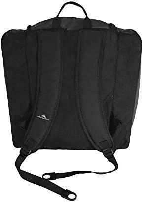 High Sierra Ski Boot / Snowboard Boot Bag Backpack -Black