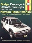 Download Haynes Dodge Durango and Dakota Pick-Ups(2000-2003)Repair Manual (Haynes Repair Manual) pdf epub