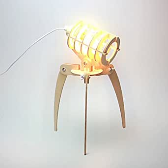 ZHW Criatura del espacio exterior bricolaje de la lámpara (plug nosotros)