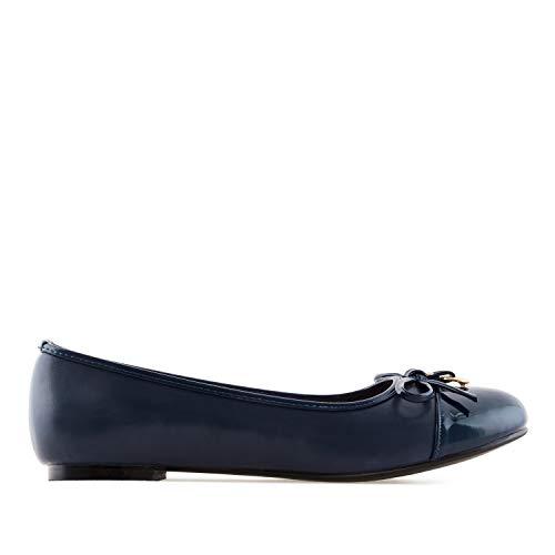 Pointures Machado grandes Pour Bleu 45 Andres am5302 Bimatière 42 Femmes ballerines RdnZOq
