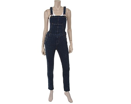Overalls for Women in Denim - Bib Pants Plus Bonus Socks
