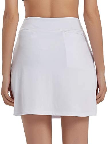 Ubestyle UPF 50+ Women's Active Athletic Skirt Sports Golf Tennis Running Skort with Pockets