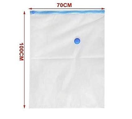Imprimiendo, 6 * 40 x 50 cm Mantas etc/… Bolsa Almacenaje Vacio edredones Pack de 6 Bolsas Crown Bolsas de Vacio Ahorradora de Espacio para Guardar Ropa 1 Bomba de Mano
