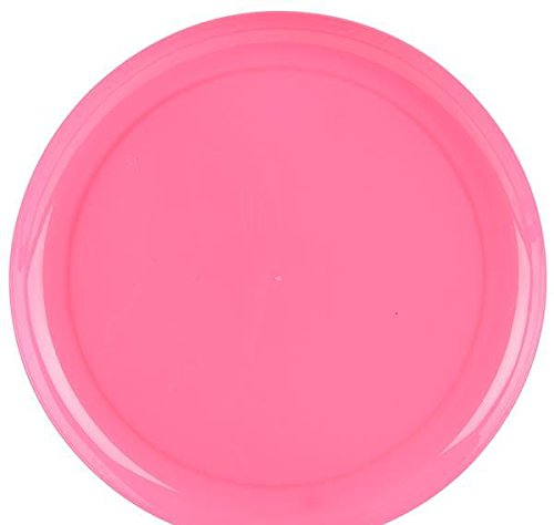 9'' PINK BREAK-A-PLATE, Case of 3 by DollarItemDirect