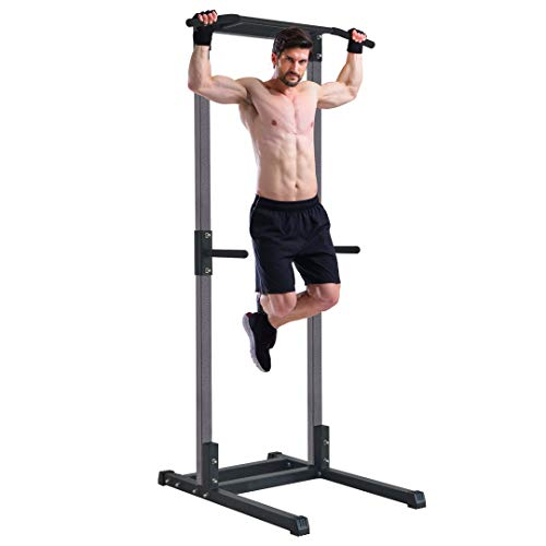 K KiNGKANG Power Tower Home Gym Commercial No Shaking Pull-Up Station Dip Station Workout Equipment, KK-LQ