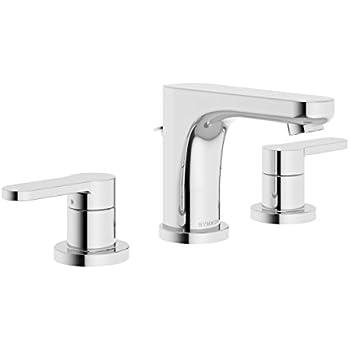 Symmons SLW-6712-1.0 Identity 8 In. Widespread 2-Handle Bathroom ...