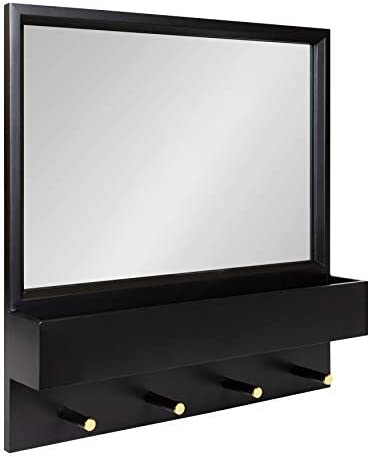 Kate and Laurel Milley Modern Framed Wall Mirror