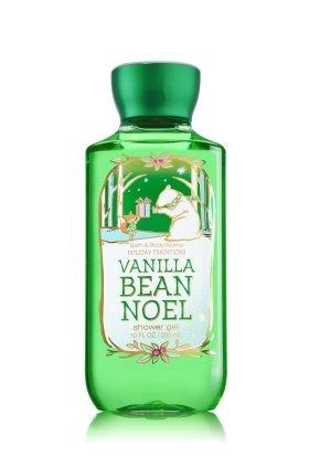 2014 Gel de douche bain & Body Works gousse de vanille Noel