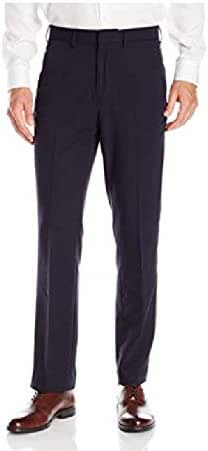 Nautica Men's 4-Way Performance Stretch Herringbone Dress Pant, 34 W X 30 L