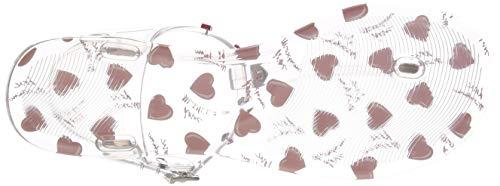 Scarpe San lod Donna Pvc T trasparente Con Col A Moschino 998 Tacco Trasparente Cinturino gomma10 Love 5wqE7XCH