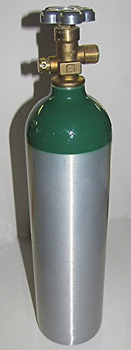 Aluminum Size D Medical Oxygen Cylinder with CGA 540 valve (Empty) -