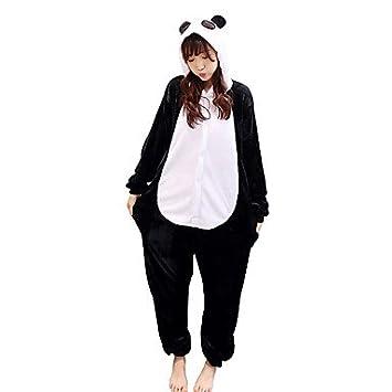 069d261403 Pijamas Oso Panda Leotardo Leotardo Pijama Mono Festival Celebración Ropa  de Noche de los Animales Halloween AnimalFranela de