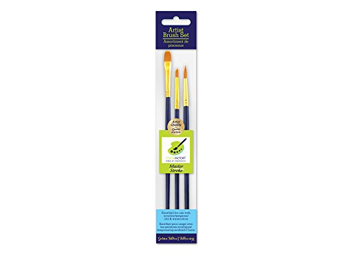 Artist Brush Set, Master Stroke Set, Golden Nylon, for sale  Delivered anywhere in USA