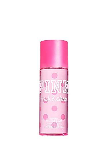 Secret Pink Splash - Victoria's Secret PINK Fresh And Clean Fragrance Travel Size Body Mist