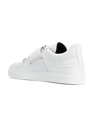 Balmain Herren Leder S8HC123PVPM100 Sneakers Weiss 1Ur1q
