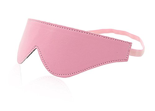 [Halloween Masquerade cosplay BDSM flirting Pink fluffy stage performance couple games eyeshade princess leather patch eye] (Clever Halloween Costumes Couple)