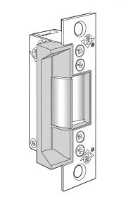 Adams Rite 7140 Series Clear Anodized Zinc Aluminum Alloy Electric Strike, 24 VDC (Pack of 1)