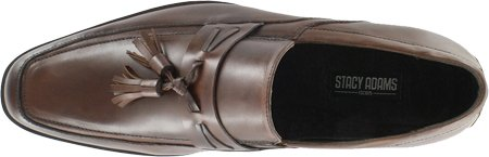 Stacy Adams Mens Stanfield Brun