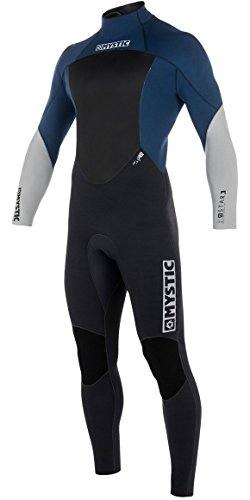 Mystic STAR 4/3 GBS Back Zip Wetsuit 2018 - Navy - Wetsuit Comparison