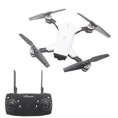 MAOFALZZNA RC Drone 4CH 6 Axis 2.4G with HD Camera 720P RC Quadcopter FPV/LED Lights/Headless Mode RC Quadcopter/Remote