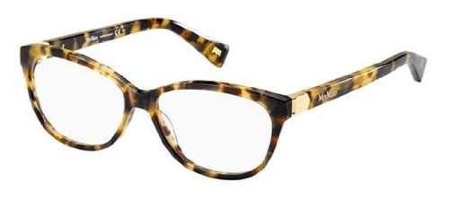MAX MARA Eyeglasses 1196 000F Spotted Havana Gold - Max Mara Glasses