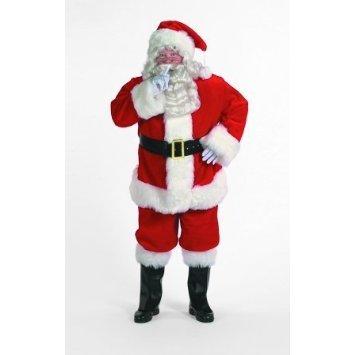 Professional Santa Claus Suit Adult Costume - (Santa Clause Suits)