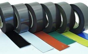 0,85mm x 40mm x 5m fuerte magnetizaci/ón Color:amarillo Cinta magn/ética flexible de colores para rotular y marcar