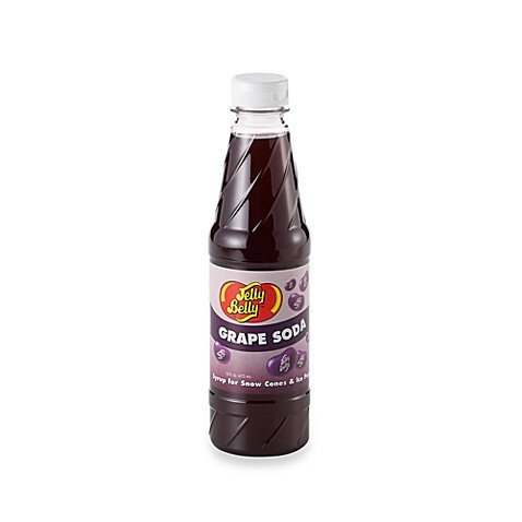 Jelly Belly Grape Soda Syrup 16 fl. oz. (Discontinued by Manufacturer) - Grape Syrup