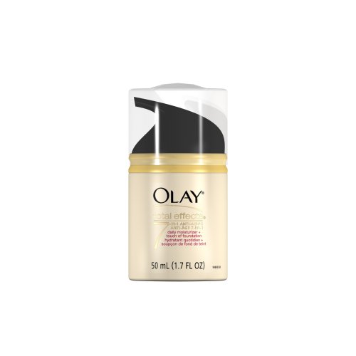 Olay CC Cream Total Effects Daily Moisturizer plus Touch of Foundation, 1.7 Fl Oz