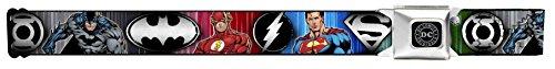 Justice League Elite Forces Superheroes Seatbelt Belt