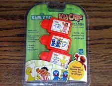 Hasbro Sesame Street Kid Clips Music Clips Compatible with Sesame Street Player